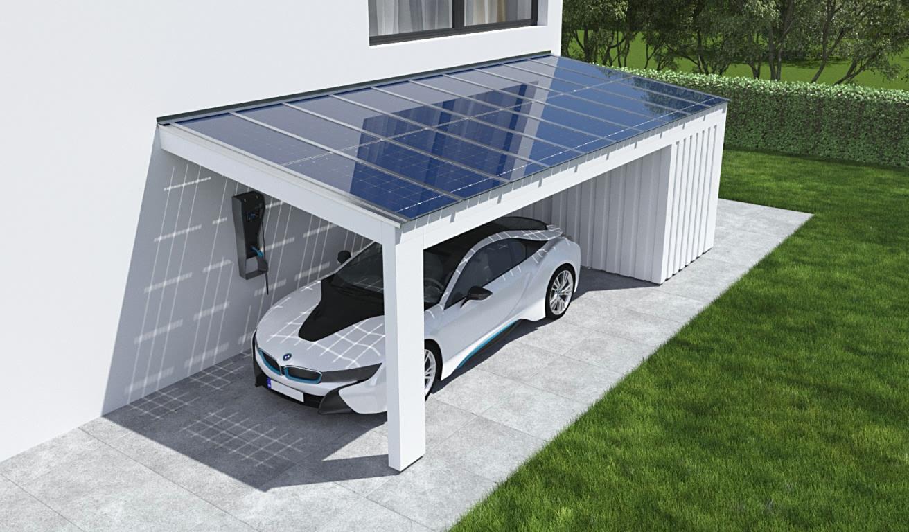 Solarcarport Kosten Kalkulator Holz Alu Oder Stahl