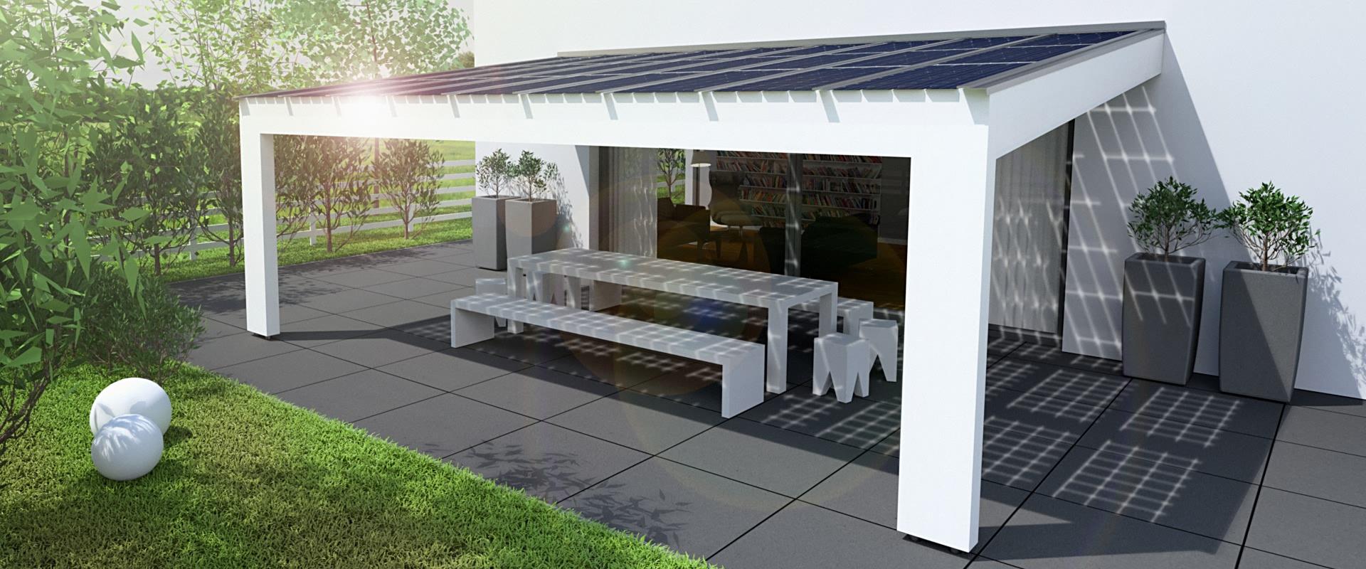 solarterrasse solarcarport ab 0 aus holz alu oder. Black Bedroom Furniture Sets. Home Design Ideas
