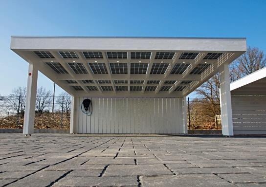 Solarcarport ab 0 aus holz alu oder stahl 30 jahre for Solar carport preise